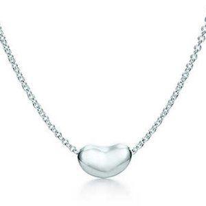 Elsa Peretti Bean Necklace Sterling Silver